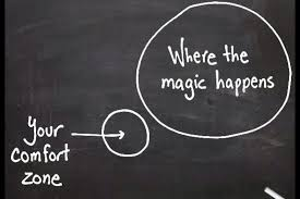 uit je comfort zone... where the magic happens